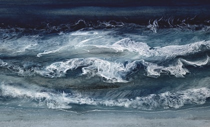 Wash Of the Waves Ed. 5 of 30