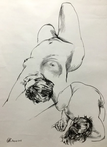 Two studies of a woman (LD150676)