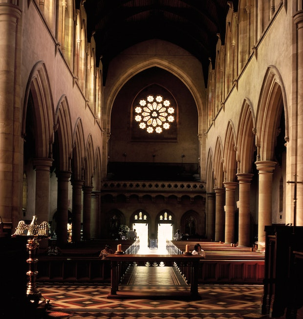 ST. PETER'S CATHEDRAL, ADELAIDE (interior)