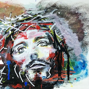 Jesus limited edition a2 print sarah smith bluethumb art 469e