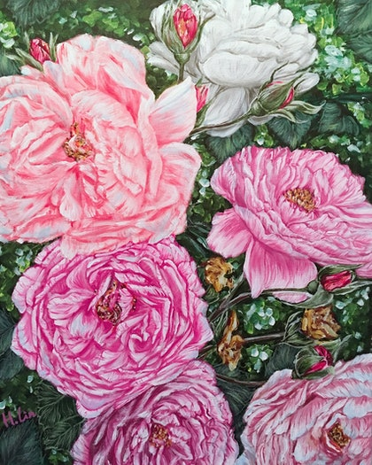SPRING BACK TO LIFE - PEONIES