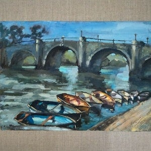 Richmond bridge ekaterina strounina bluethumb art 6fdf