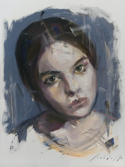 Study of a girl