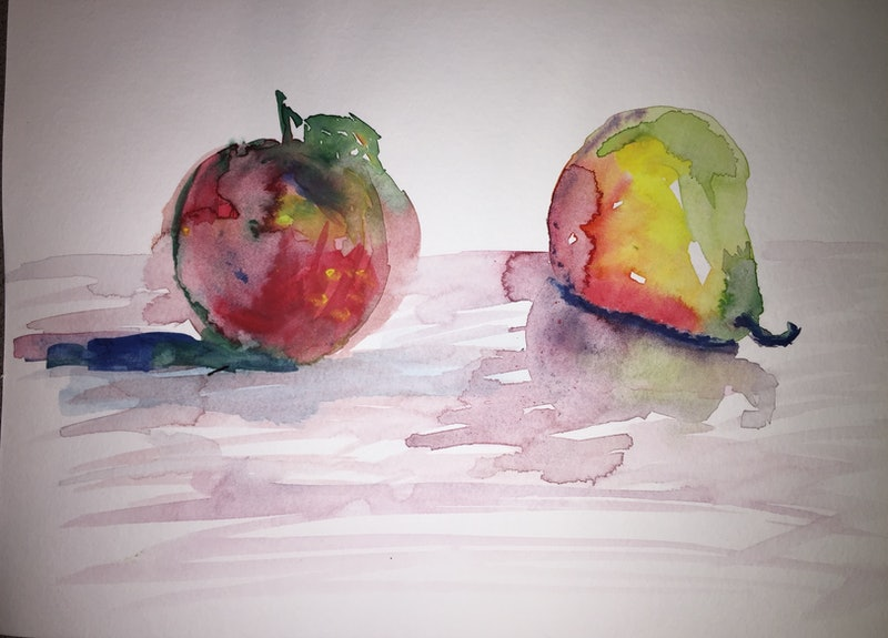 Apple and Pear ( study 1.)