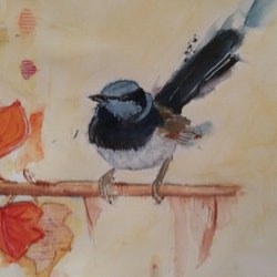 Autumn wren gowri shan bluethumb art 60cd
