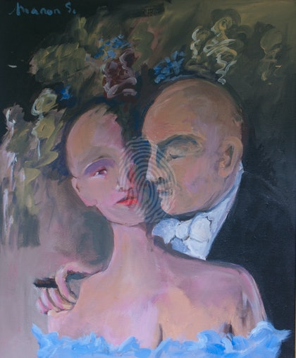 Couple with Cigar II