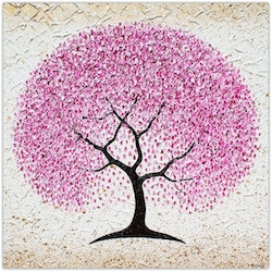 Cherry blossom tree textural painting miranda lloyd bluethumb art 942f
