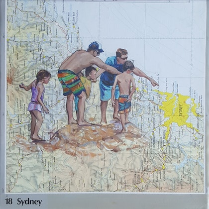 Discovery - map family Sydney beach