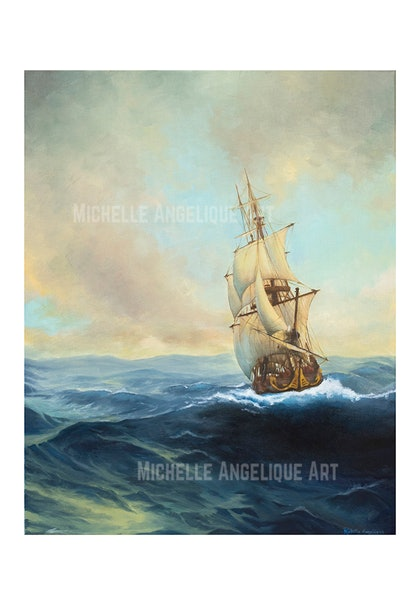 The Voyage Limited Edition Fine Art Print /100 Ed. 2 of 100