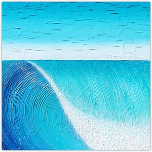 Ocean wave vs 2 textural abstract sold commission for rick miranda lloyd bluethumb art fa1b