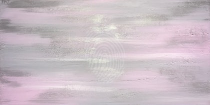 "ORIGINAL ABSTRACT ART PAINTING ON STRETCHED CANVAS  ""TRANQUILITY ""  SOFT  PINK SILVER WHITE TEXTURE"