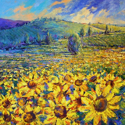 'Heart of Tuscany' Limited Edition Giclee Print