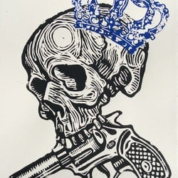 Skull 2 gavin brown bluethumb art 1f78