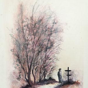 The road less travelled lucinda leveille bluethumb art bf7a
