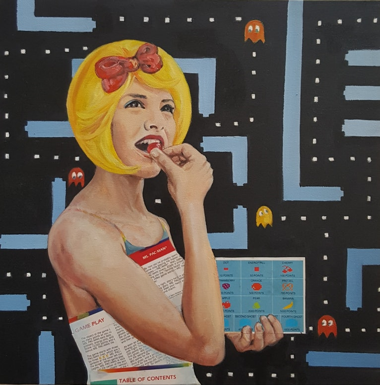 Ms Pacman - the Beauty Queen of Video Games