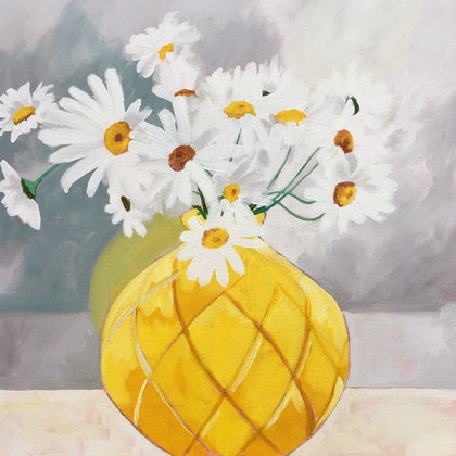 'The yellow vase'