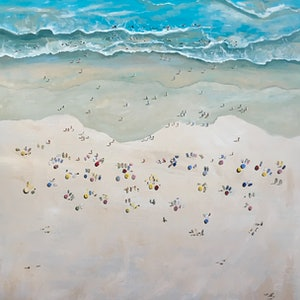 Beach day meredith howse bluethumb art 893f