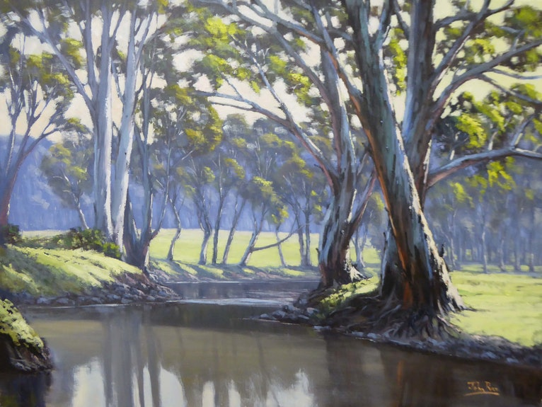 Sunny Afternoon On The Ovens River