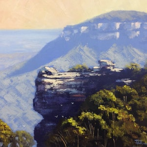 Mountain view narrow neck john rice bluethumb art 8c6f