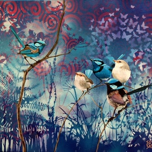 Blue boys susan skuse bluethumb art 3b1f