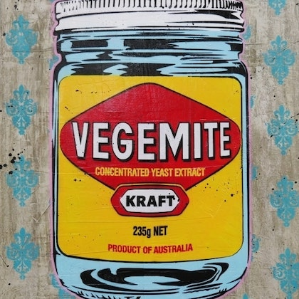 Happy Little Vegemite 120cm x 100cm