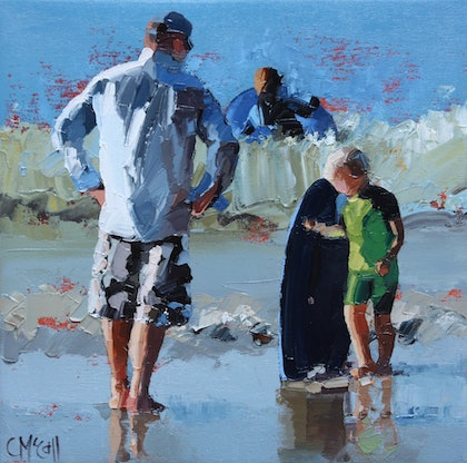 Junior Surfer III - Limited Edition Giclee Art Print  Ed. 3 of 100
