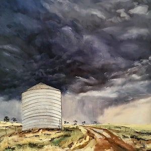 The silo meredith howse bluethumb art 1577