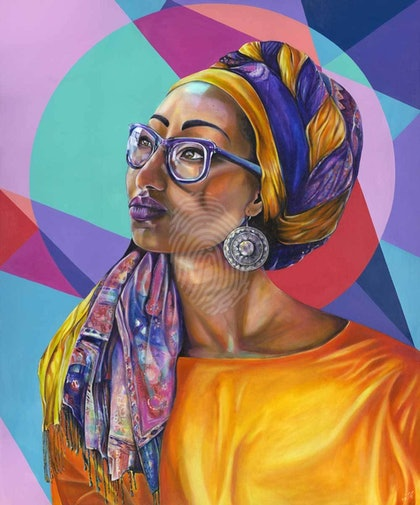Inshallah - Limited Edition Print of Yassmin Abdel-Magied Ed. 1 of 20