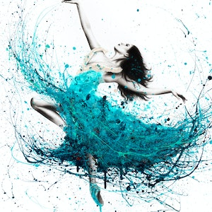 Ballerina waves ashvin harrison bluethumb art dfdc