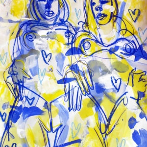 Summertime girls john graham bluethumb art 9c29