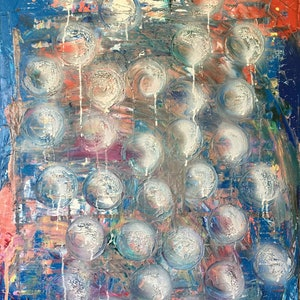 (CreativeWork) Sphere Dreaming 1 by ZYL ZYLBAT. mixed-media. Shop online at Bluethumb.
