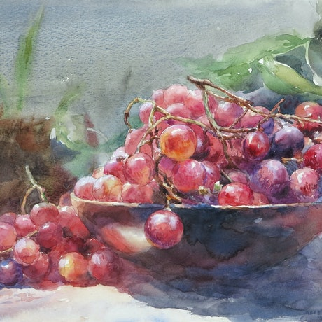 (CreativeWork) Freshness by Richard(Tiejun) Chao. Watercolour Paint. Shop online at Bluethumb.