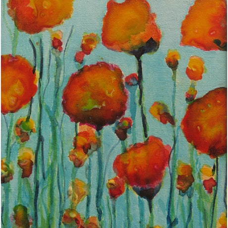 (CreativeWork) A Sunny Spring Day by Marta Blaszak-Just. Acrylic Paint. Shop online at Bluethumb.