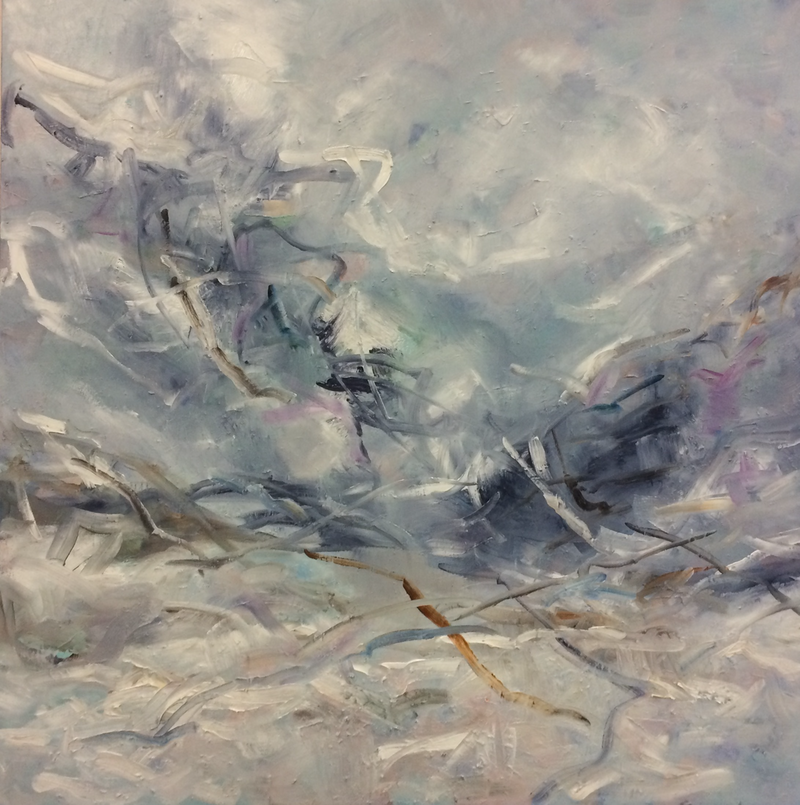 (CreativeWork) After the storm 2 by sue bannister. oil-painting. Shop online at Bluethumb.