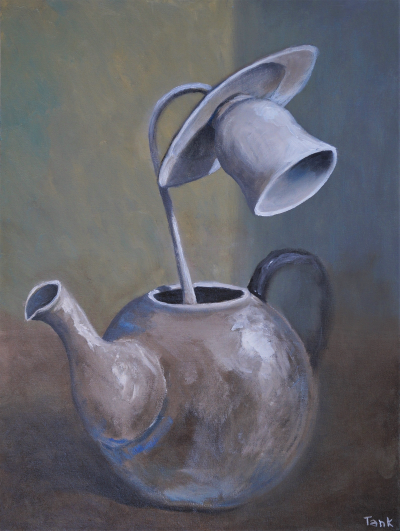 (CreativeWork) A Still Life by Tank .. Oil Paint. Shop online at Bluethumb.