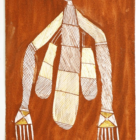 (CreativeWork) Wakkewakken (Sugarbag Woman), 468­-16 by Don Namundja. Other Media. Shop online at Bluethumb.