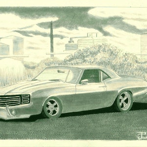 (CreativeWork) A Calm Day by Prachitesh Jadhav. drawing. Shop online at Bluethumb.