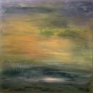(CreativeWork) First Light by helene hardy. mixed-media. Shop online at Bluethumb.