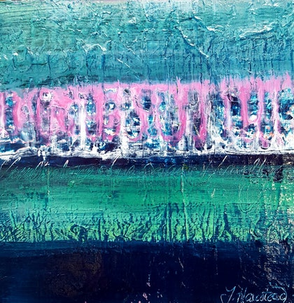 (CreativeWork) Urban Mist by Tracey Haustead. mixed-media. Shop online at Bluethumb.