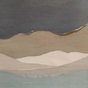 (CreativeWork) Blue Mountains #2 by Shelby Bassett. other-media. Shop online at Bluethumb.
