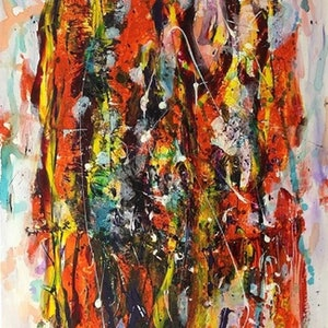 """(CreativeWork) """"NUN IN THE CROWD"""" by Ray Marsden. mixed-media. Shop online at Bluethumb."""
