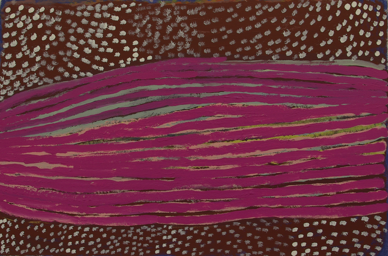(CreativeWork) Untitled, 43/15 by ROSIE TARKU KING. Acrylic Paint. Shop online at Bluethumb.