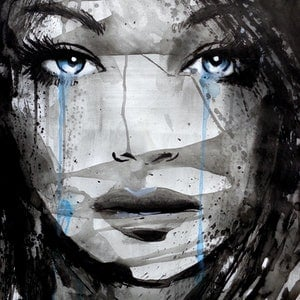 (CreativeWork) SHINE by loui jover. drawing. Shop online at Bluethumb.