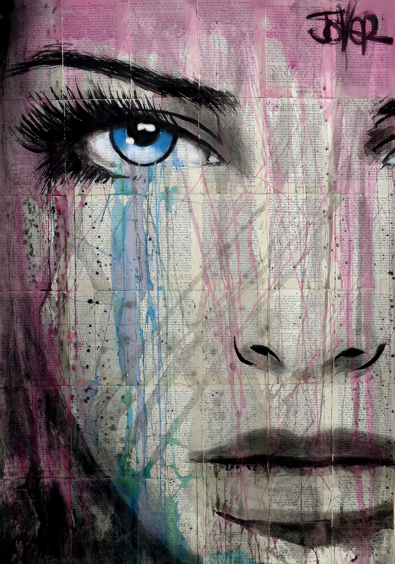 (CreativeWork) GHOSTS by loui jover. drawing. Shop online at Bluethumb.