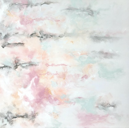 (CreativeWork) PASTEL RAIN by April Lockwood. #<Filter:0x00007fc0646bff40>. Shop online at Bluethumb.
