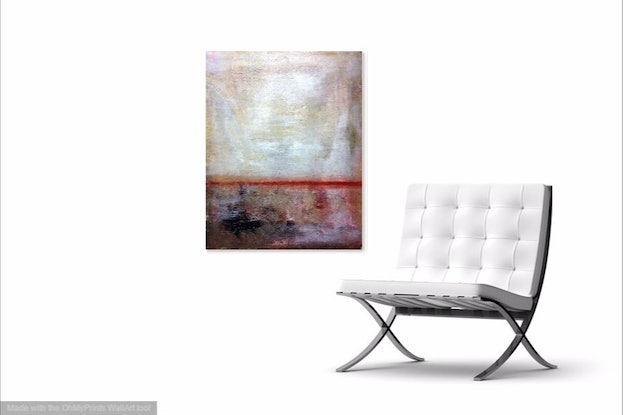 (CreativeWork) Red Earth by Daryl Clifford. Acrylic Paint. Shop online at Bluethumb.
