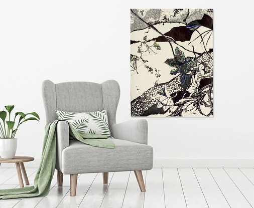 (CreativeWork) Oak Leaves 2 by Tania Daymond. #<Filter:0x00007fc20094f5d8>. Shop online at Bluethumb.