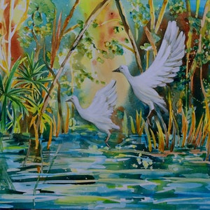 (CreativeWork) Free to Fly by Chris Hobel. arcylic-painting. Shop online at Bluethumb.