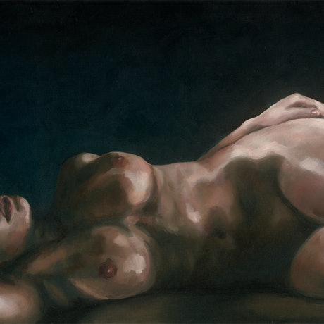 (CreativeWork) In Another Life by Mazi Katanov. Oil Paint. Shop online at Bluethumb.