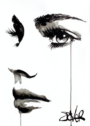 (CreativeWork) ANY MOMENT by loui jover. Drawings. Shop online at Bluethumb.